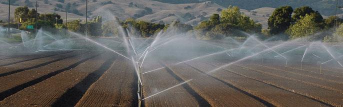 Farm irrigation design